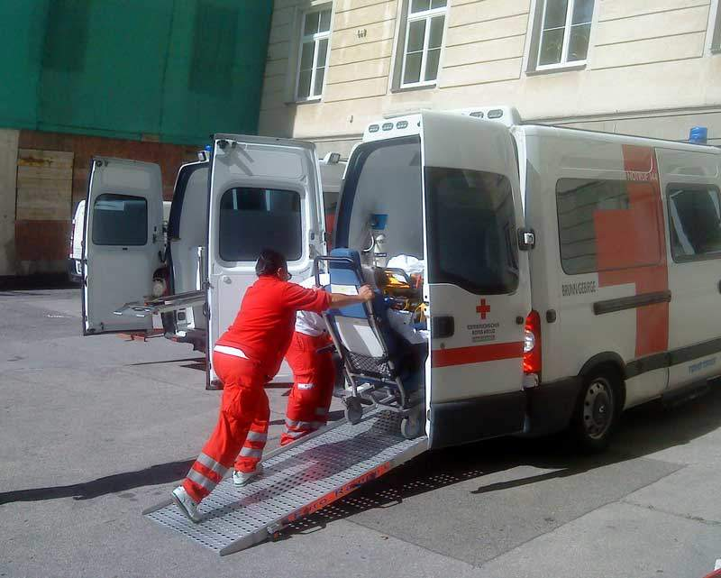 Umzugssteuerung Krankenhaus