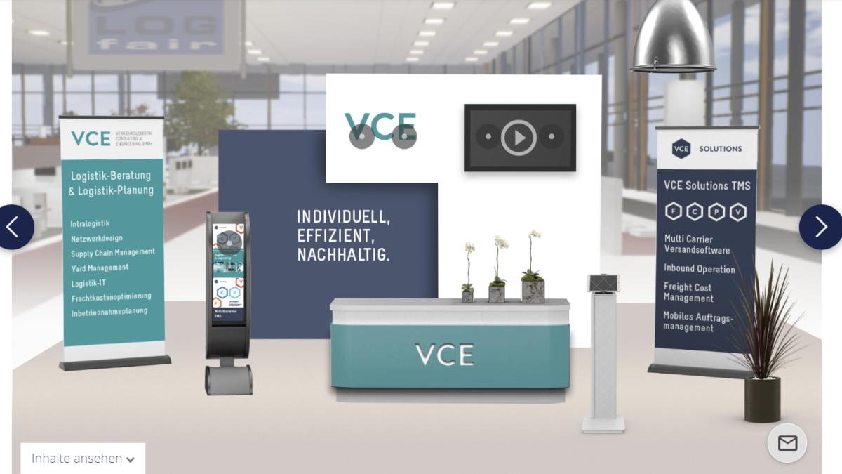 VCE auf der Logfair